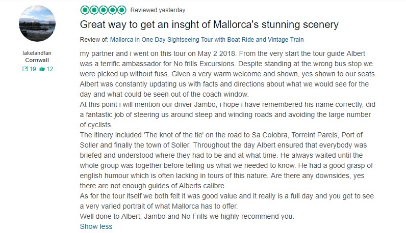 review island tour mallorca